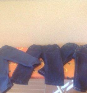 Двое джинс и брюки