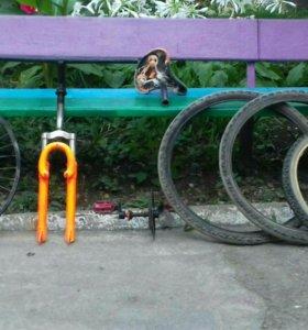 Детали на BMX и горный велосипед