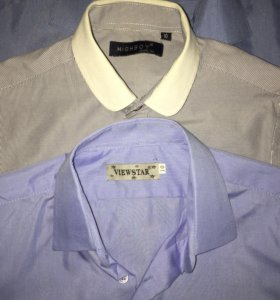 Рубашки школьные 4 штуки для мальчика