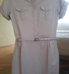 Рубашка-платье 42
