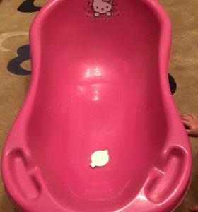 Детская ванночка со сливом Maltex