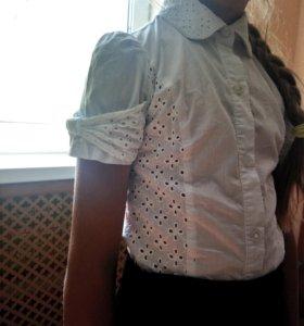 Блузка школьная,