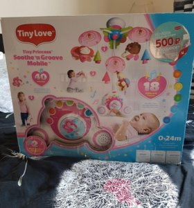 Мобиль Tiny Love Soothe'n Groove Mobile + подвески