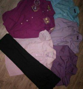 10 рубашек и 2 брюк