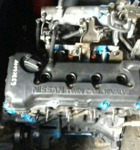 Двигатель контрактный ниссан QG15DE