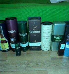 Подарочные упаковки от виски