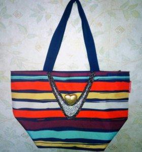 Новая итальянская пляжная сумка