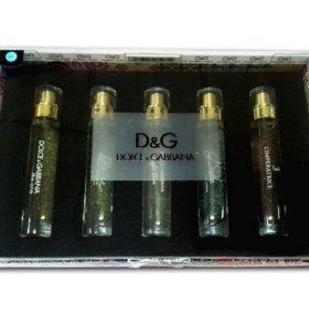 """Подарочный набор """"Dolce&Gabbana"""" 5*15 ml"""