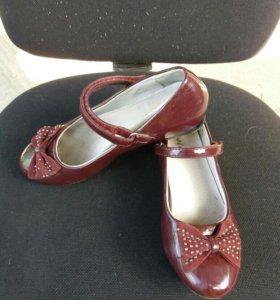 Туфли школьные 34
