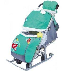 Санки-коляска НД7-2