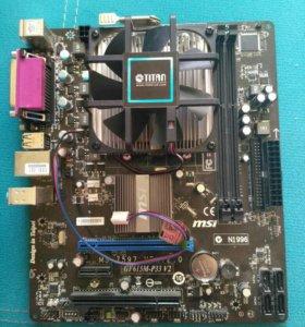 Продам процессор Atholon 255 X2+мат.плату