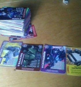 Карточки трансформеры прайм.