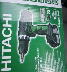 дрель-шуруповерт Hitachi DV18DСL2 Lion