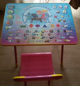 Складные стол со стульчиком