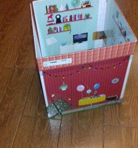 Дом-книжка для куколки.