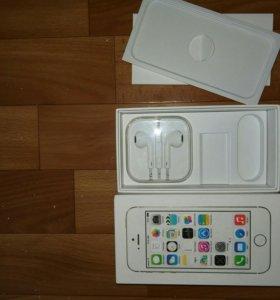 Коробка от iphone 5S Gold 16gb