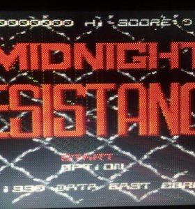 "Картридж Sega ""Midnight Resistance"""