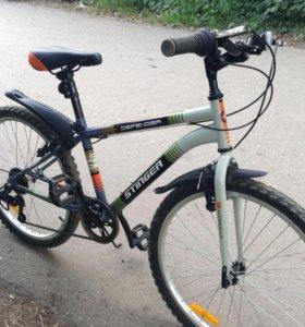 Велосипед STINGER (подростковый 24') и велозамок