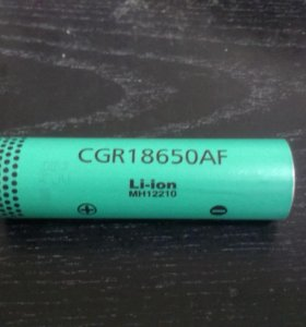 LI-ION panasonic CGR18650AF 2000mAh