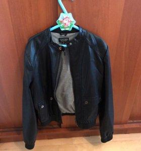 Куртка экокожа Topshop