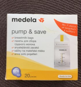Пакеты для сбора грудного молока Medela