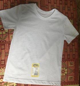 Детские белые футболки