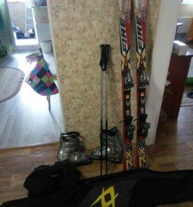 Горные лыжи Fischer RX 4 Fire