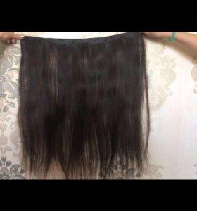 Натуральные коричневые волосы