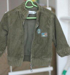 Куртка из вельвета, размер 68