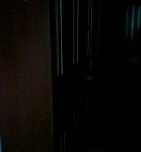 Шкаф и кровать 1.5.