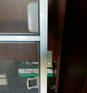 Сетка на балконную дверь