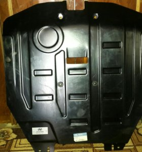 Защита двигателя Hyundai Santa Fe