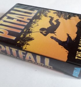 "Картридж Sega ""PITFALL The Mayan Adventure"""