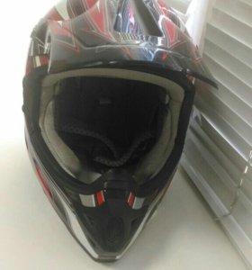 Шлем кроссовый Vega