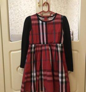 Платье для девочки 134 рост