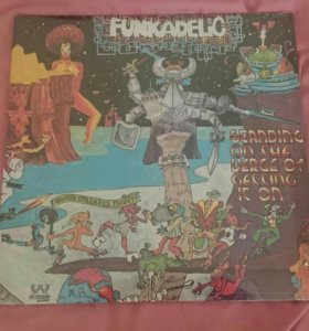 """Винил Funkadelic """"Standing On The Verge..."""" 1974"""
