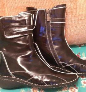 Ботинки, зима, новые