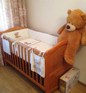 Детская кроватка до 5 лет