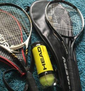 Ракетки для большого тенниса 2шт