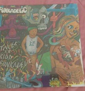 "Винил Funkadelic ""Tales Of Kidd Funkadelic"" 1974"