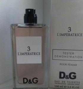 "🌹ТЕСТЕР Dolce & Gabbana ""3 L'Imperatrice""🌹"