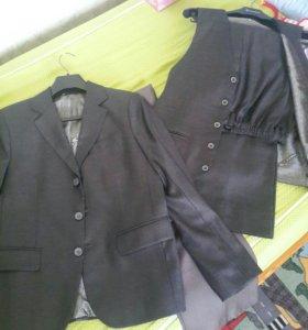 Школьный костюм для мальчика размер 42