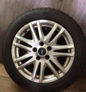 Комплект колёс на литых дисках