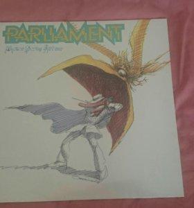 "Винил Parliament ""Motor Booty Affair"" 1978"