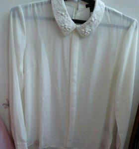 Блузка новая белая Amisu