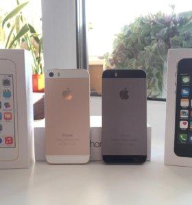 iPhone 5s 16Gb Gold/Space Gray (Новые)