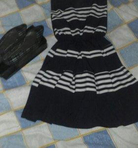 Продам ультомодный комплект туфельки р 37 и платье