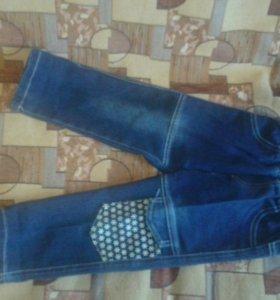 джинсовый костюм на девочку от1-2г