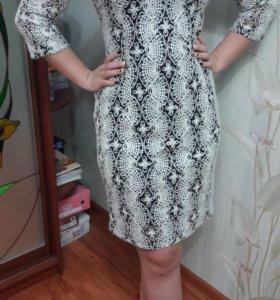 Капроновое платье