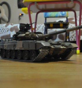 Т-90 радиоуправляемая модель Heng Long T90 Pro
